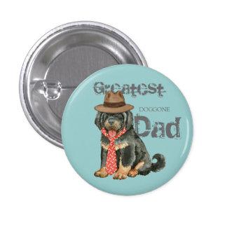 Tibetan Mastiff Dad 1 Inch Round Button