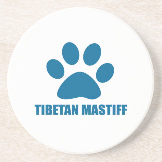 TIBETAN MASTIFF DOG DESIGNS COASTER