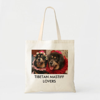 TIBETAN MASTIFF LOVERS TOTE BAG