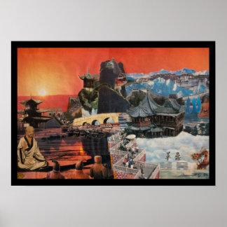 Tibetan Montage 1984 Poster