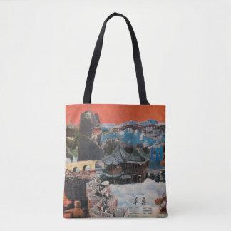 Tibetan Montage 1984 Tote Bag