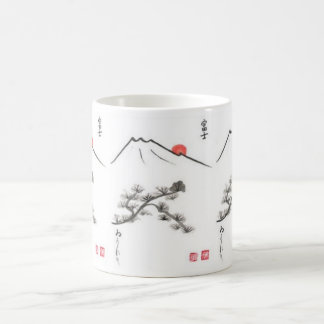 Tibetan mountains -- spiritual coffee mug