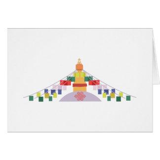 Tibetan Prayer Flags Card