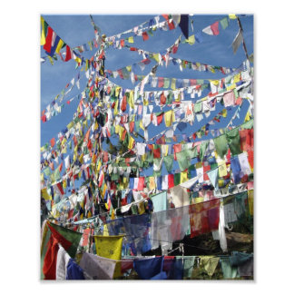 Tibetan Prayer Flags Photo Print
