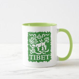 Tibetan Snow Lion Tea and Coffee Mug