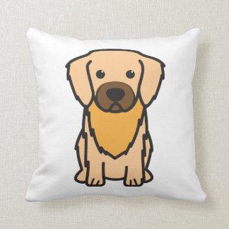 Tibetan Spaniel Dog Cartoon Throw Pillow