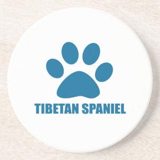 TIBETAN SPANIEL DOG DESIGNS COASTER