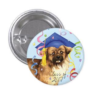 Tibetan Spaniel Graduate 1 Inch Round Button