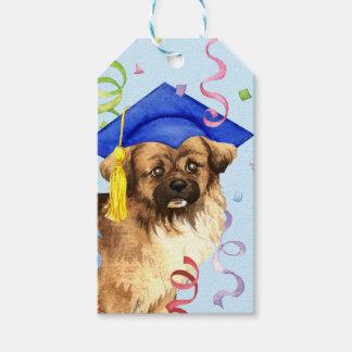Tibetan Spaniel Graduate Gift Tags