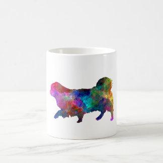 Tibetan Spaniel in watercolor Coffee Mug
