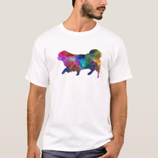 Tibetan Spaniel in watercolor T-Shirt
