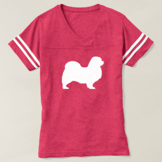 Tibetan Spaniel Silhouette T-shirt