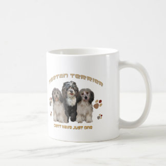 Tibetan Terrier Can't Have Just One Coffee Mug