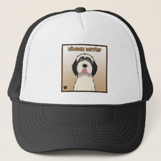 Tibetan Terrier Cartoon Trucker Hat