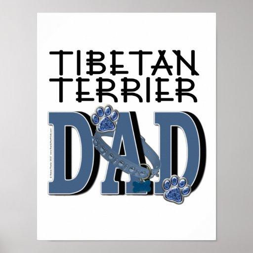 Tibetan Terrier DAD Poster