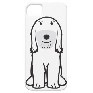 Tibetan Terrier Dog Cartoon iPhone 5 Case
