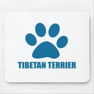TIBETAN TERRIER DOG DESIGNS MOUSE PAD