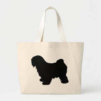 Tibetan Terrier Gear Large Tote Bag