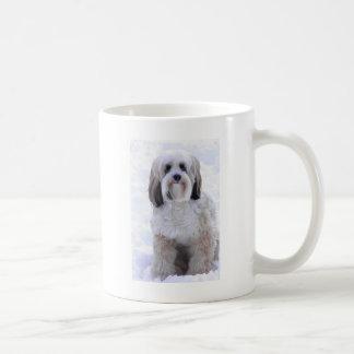 Tibetan Terrier Sable and White Coffee Mug