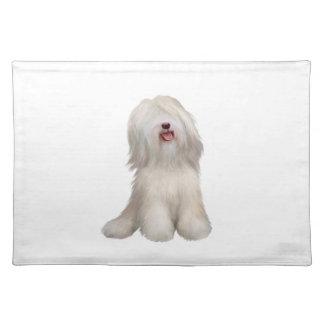 Tibetan Terrier (white) Placemat