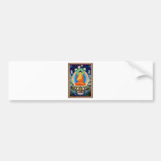 Tibetan Thangka Prabhutaratna Buddha Bumper Sticker