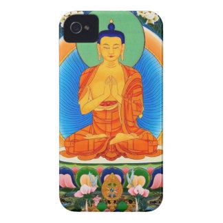 Tibetan Thangka Prabhutaratna Buddha iPhone 4 Cover