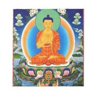 Tibetan Thangka Prabhutaratna Buddha Notepad
