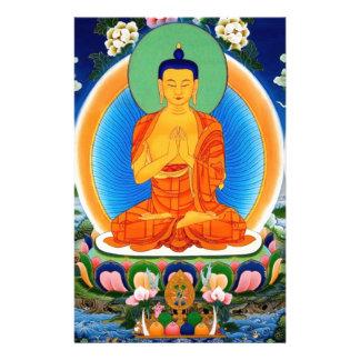 Tibetan Thangka Prabhutaratna Buddha Stationery