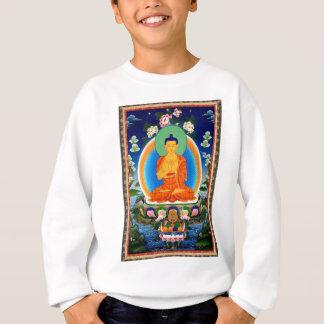 Tibetan Thangka Prabhutaratna Buddha Sweatshirt