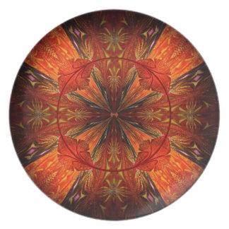 Tibetan Trumpet Vine Plate