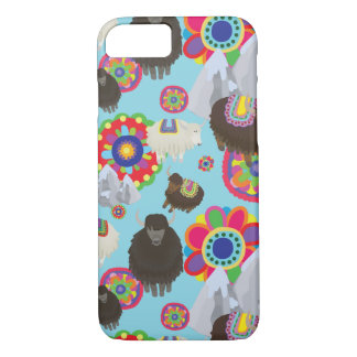 tibetan yaks Case-Mate iPhone case