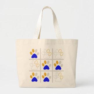 Tic TAC Dog Jumbo Tote Bag