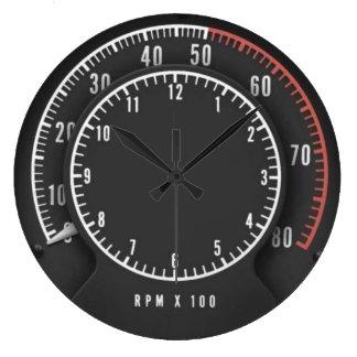 Tic-Toc-Tach Clock