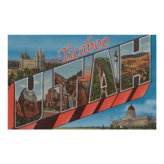 Ticaboo, UtahLarge Letter ScenesTicaboo, UT Poster
