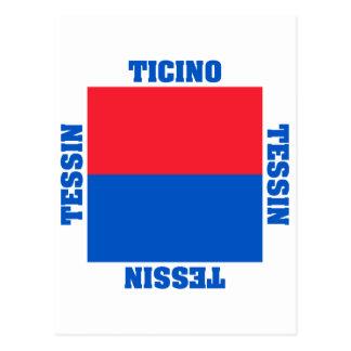 Ticino Switzerland Canton Flag Post Cards