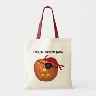 Tick-Or-Treat For Booty! Budget Tote Bag