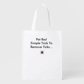 Tick Removal Recyclable Bags! Market Tote