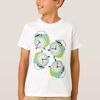 Tick tock quirky alarm clocks T-Shirt