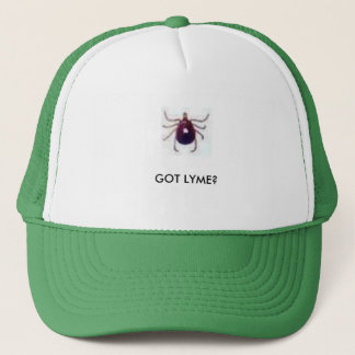 tickbullet, GOT LYME? Trucker Hat