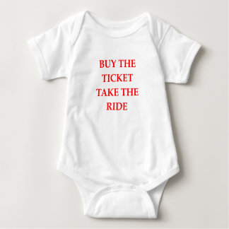 TICKET BABY BODYSUIT