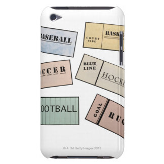 Ticket Stubs iPod Touch Cases