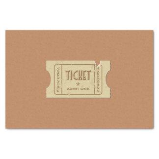 Ticket Tissue Paper