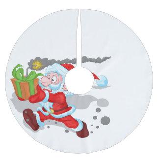 Ticking Time Santa Tree Skirt