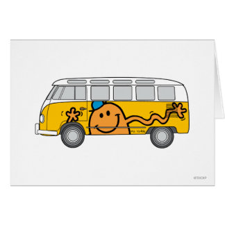 Tickle Bus Greeting Card