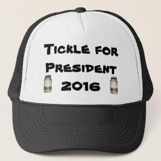 Tickle for President in 2016 Moonshine Cap
