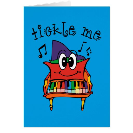 Tickle Me Piano Cards