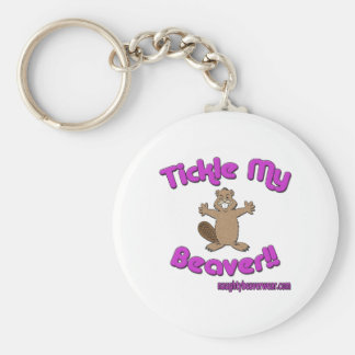 Tickle My Beaver Keychain