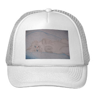 Tickled Cat Trucker Hat