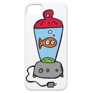 Tickles Goldfish in a blender iPhone 5 Covers