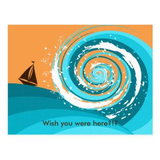 Tidal Wave Postcard